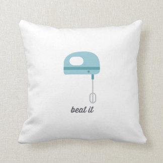 Beat It | Blue Kitchen Beater Pillows