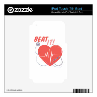 Beat It Decals For iPod Touch 4G
