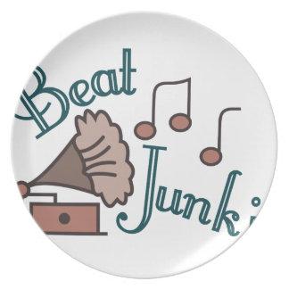 Beat Junkie Plate