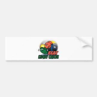 Beat Kidney Cancer Bumper Sticker