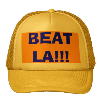 BEAT LA!!! TRUCKER HAT