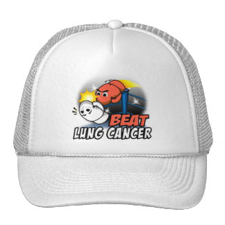 Beat Lung Cancer Trucker Hat