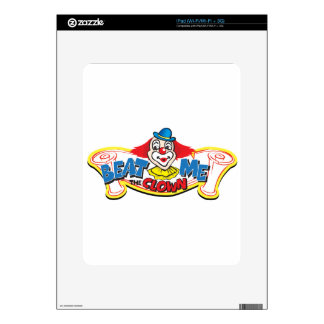 Beat Me the Clown Decal For iPad
