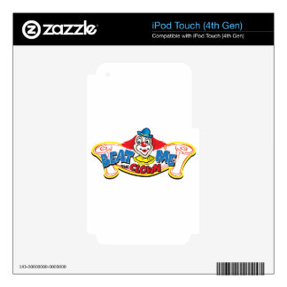Beat Me the Clown Decal For iPod Touch 4G