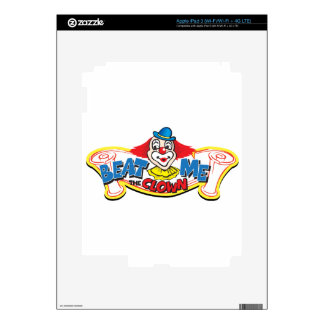 Beat Me the Clown Skins For iPad 3