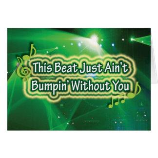 Beat not Bumpin' Card