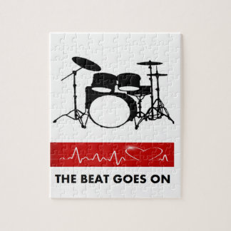 Beat of a Drummer's Heart Jigsaw Puzzle