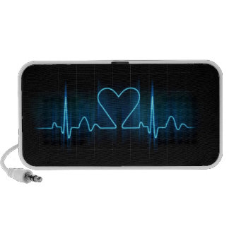 beat of my Heart Portable Speakers