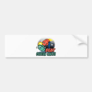 Beat Ovarian Cancer Bumper Sticker