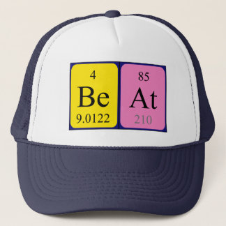 Beat periodic table name hat