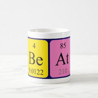 Beat periodic table name mug