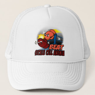 Beat Sickle Cell Anemia Trucker Hat