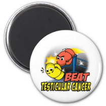 Beat Testicular Cancer Magnet