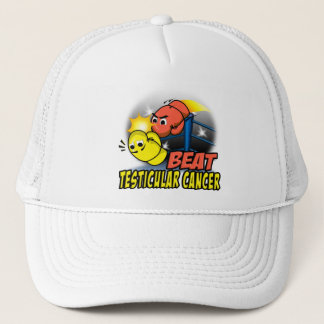 Beat Testicular Cancer Trucker Hat
