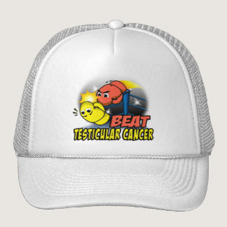 Beat Testicular Cancer Trucker Hat
