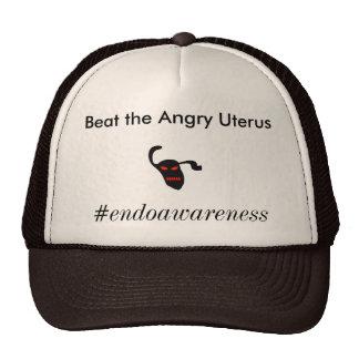 Beat The Angry Uterus Trucker Hat