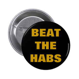 BEAT THE HABS PINS