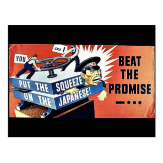 Beat The Promise, Put The Squeeze On The Japanese Postcard