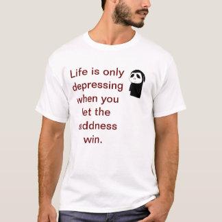 """""""Beat the Sadness"""" T-shirt"""