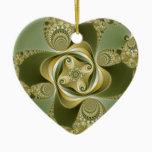 Beat This - Fractal Ceramic Ornament
