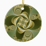 Beat This - Fractal Ceramic Ornament
