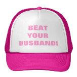 BEAT YOUR HUSBAND! MESH HATS