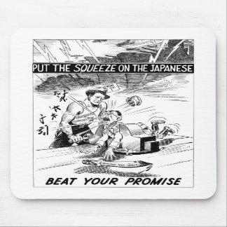 Beat Your Promise Cartoon Mousepad
