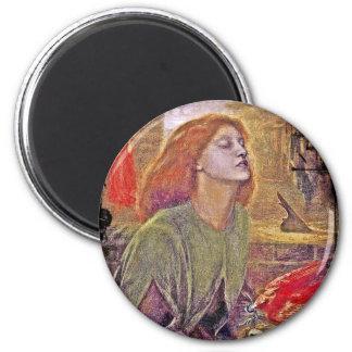 Beata Beatrix 2 Inch Round Magnet