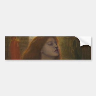 Beata Beatrix by Dante Gabriel Rossetti Bumper Sticker