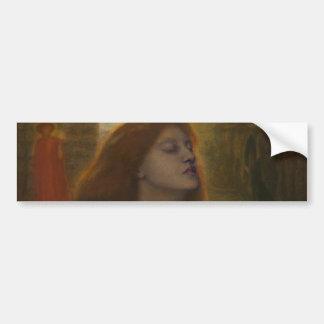 Beata Beatrix by Dante Gabriel Rossetti Bumper Sticker