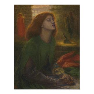 Beata Beatrix by Dante Gabriel Rossetti Card