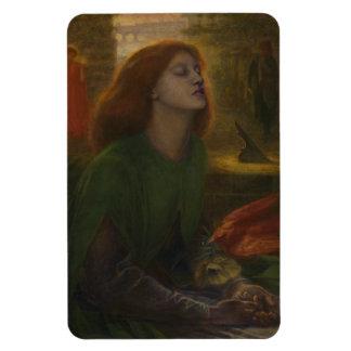 Beata Beatrix by Dante Gabriel Rossetti Magnet