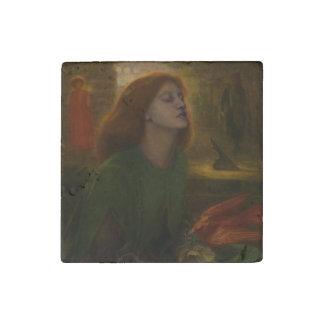 Beata Beatrix by Dante Gabriel Rossetti Stone Magnet