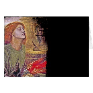 Beata Beatrix Card