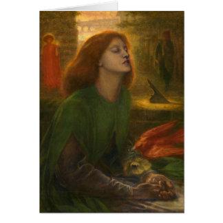 Beata Beatrix - Dante Gabriel Rossetti Cards