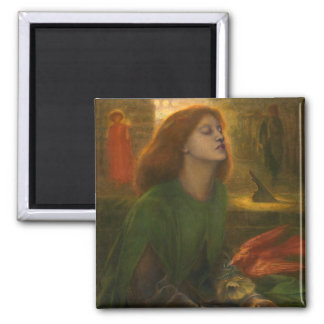 Beata Beatrix - Dante Gabriel Rossetti Magnet