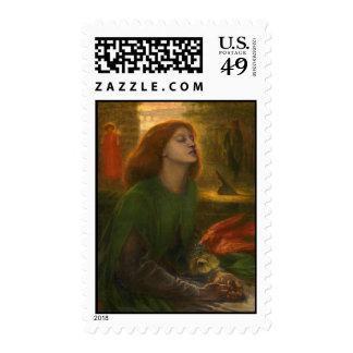 Beata Beatrix - Dante Gabriel Rossetti Postage