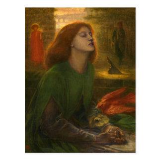 Beata Beatrix - Dante Gabriel Rossetti Postcards