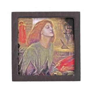 Beata Beatrix de Dante Gabriela Rossetti Cajas De Regalo De Calidad
