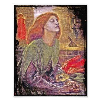 Beata Beatrix de Dante Gabriela Rossetti Impresiones Fotograficas