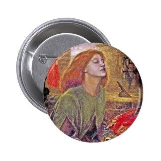 Beata Beatrix Pinback Button