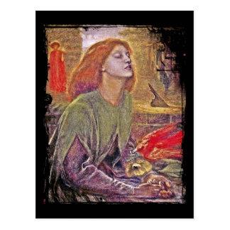 Beata Beatrix Postcard