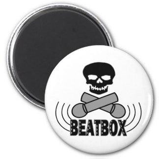 Beatbox 2 Inch Round Magnet