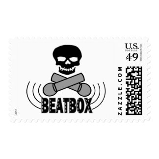 Beatbox Postage Stamps