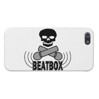 Beatbox Skull & Crossbone Mics Cover For iPhone SE/5/5s