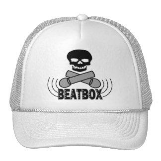 Beatbox Skull & Crossbone Mics Trucker Hat