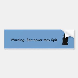 Beatboxer Bumper Sticker
