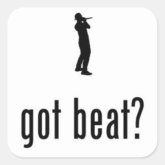 Beatboxing Pegatina