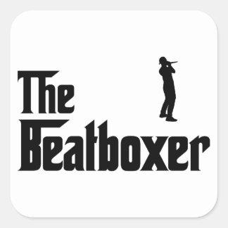 Beatboxing Square Sticker