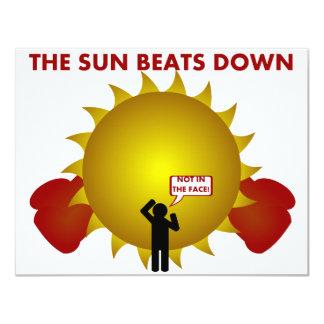 Beatdown de Sun Invitaciones Personales